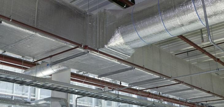 Luchtkanalen isoleren, ventilatiekanalen isoleren, isolatie luchtkanalen   Ventilatie Techniek Brabant