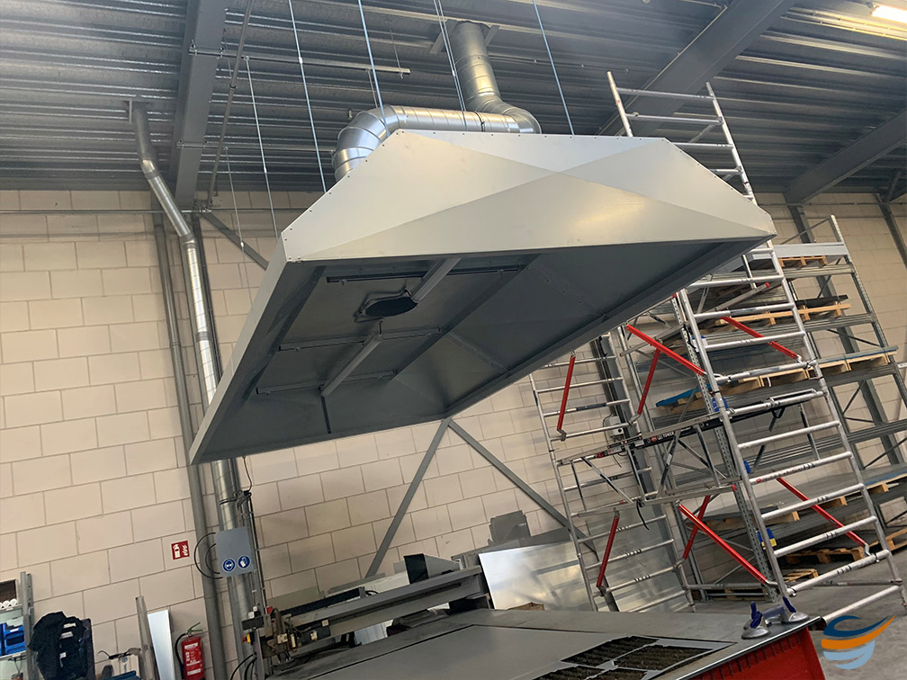 Werkplaats afzuiging, afzuigkap werkplaats, lasrook afzuiging | Ventilatie Techniek Brabant