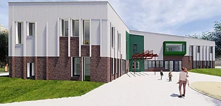 Basisschool De Hoeksteen Krommenie, nieuwbouw basisschool, installaties basisschool | Ventilatie Techniek Brabant